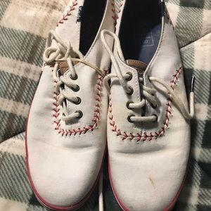 Worn 7.5 Keds Women's baseball shoes